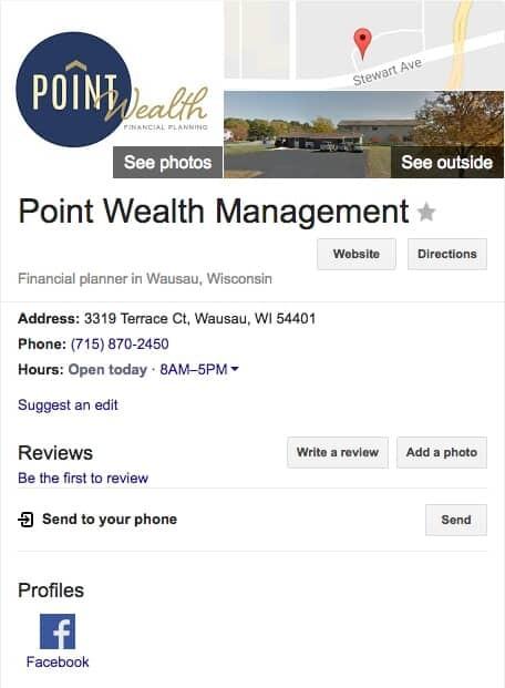 Verified Listing on Google Maps