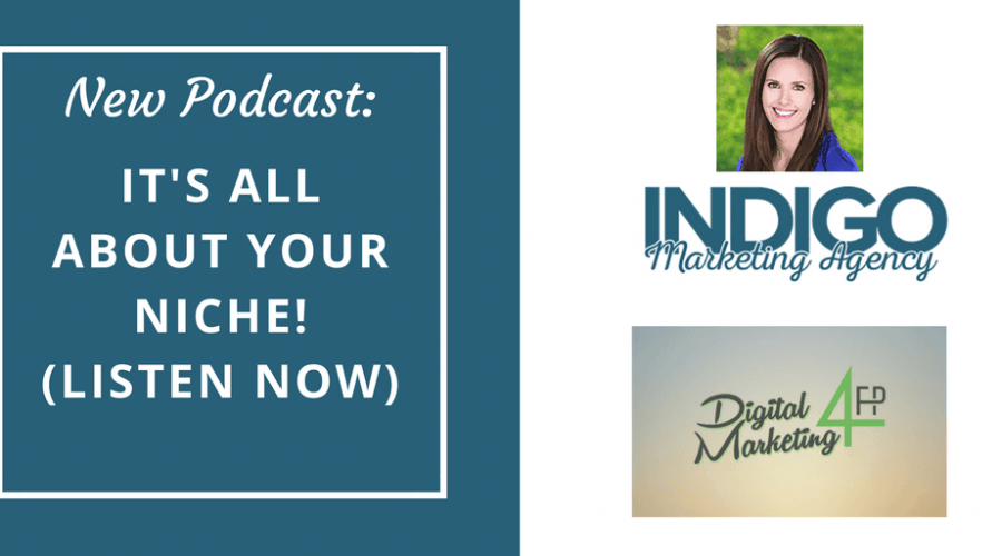 It's All About Your Niche Podcast (Listen Now!)