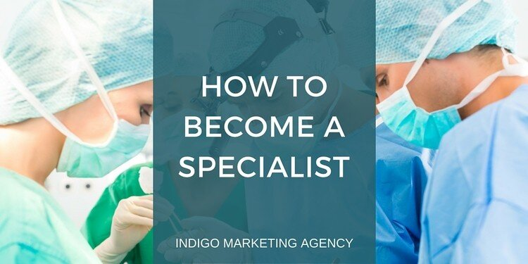 How to Become a Specialist