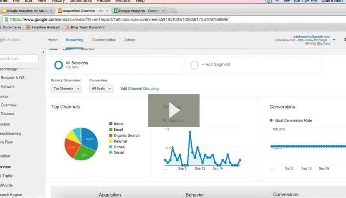 Google Analytics for Financial Advisors (Video)