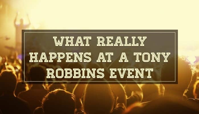 What Really Happens at a Tony Robbins Event