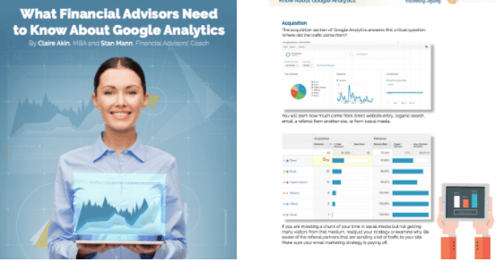 What Financial Advisors Need to Know About Google Analytics