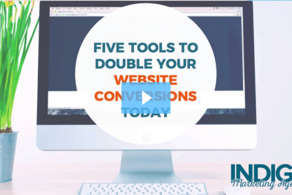 Five Tools to Double Your Website Conversions Webinar