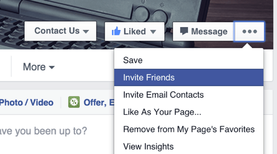 How to Invite Your Facebook Friends to 'Like' Your Business Page