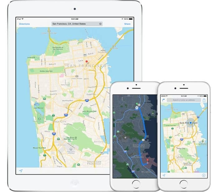 Apple Maps for Financial Advisors