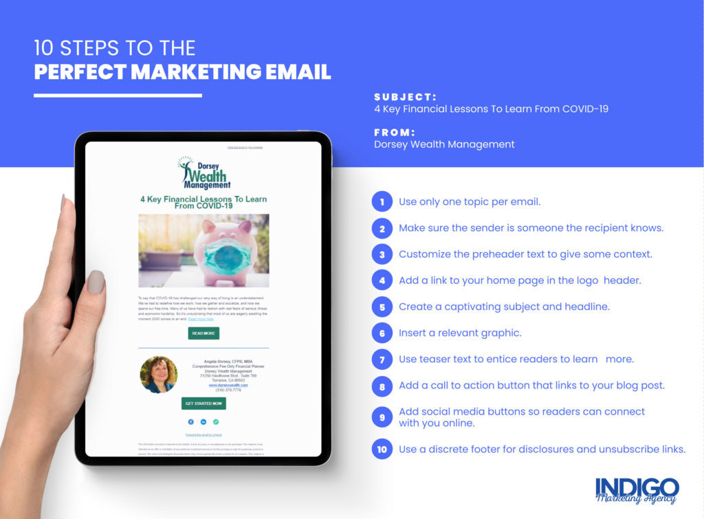10 Steps to the Perfect Marketing Email