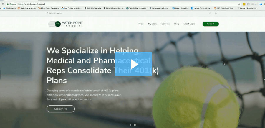 Before & After: New Websites for Financial Advisors (Video)