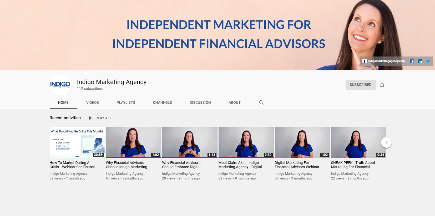 Independent Marketing for Independent Financial Advisors