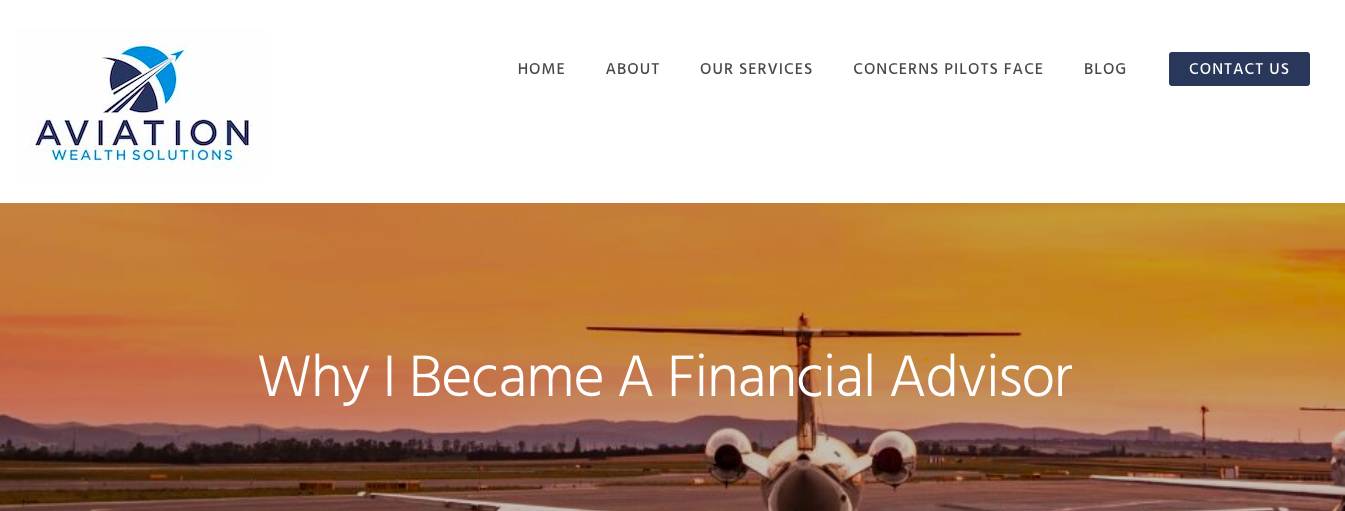 Embracing a Specialty Marketing_Aviation Wealth Solutions banner