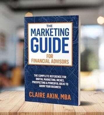 Marketing Guide for Financial Advisors Book